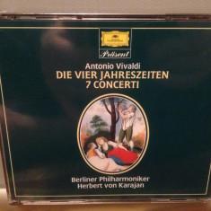 VIVALDI - THE FOUR SEASONS- 2CD BOX (1984/POLYDOR/RFG) - CD ORIGINAL/Sigilat/Nou, deutsche harmonia mundi