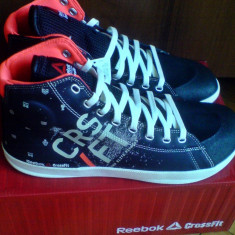 Adidasi Reebok CrossFit Power Lite 44EU sala/crossfit/fitness -produs original- - Adidasi barbati Reebok, Culoare: Negru