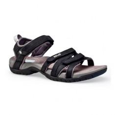 Sandale din piele pentru femei Teva Tirra Leather Black (TVA-4266-BLK) - Sandale dama Teva, Culoare: Negru, Marime: 37, 38