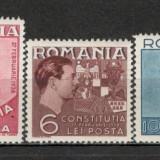 Romania.1938 Constitutia XR.72 - Timbre Romania, Nestampilat
