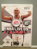 NBA LIVE 09 ALL PLAY - Joc pentru Nitendo Wii - Original/ Nou /Sigilat, Sporturi, 3+, Ea Sports