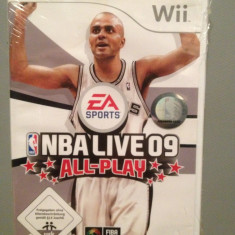 NBA LIVE 09 ALL PLAY - Joc pentru Nitendo Wii - Original/ Nou /Sigilat