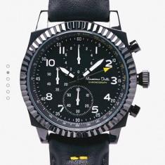 Set ceas Massimo Dutti cronograph nou cu eticheta, cu doua curele de schim - Ceas barbatesc, Quartz