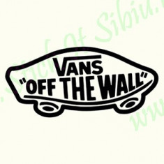 Vans off the wall_Stickere Sport_Cod: CSP-161_Dim: 15 cm. x 6.9 cm.