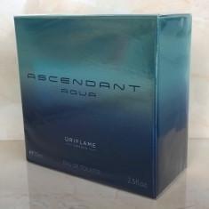 Apă de toaletă Ascendant Aqua pentru barbati (Oriflame) - Parfum barbati Oriflame, 75 ml