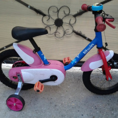 B'twin Design Calipo, Blue, bicicleta copii 14