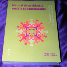 Manual de psihiatrie sociala si psihoterapie Klaus Dorner. noua, sigilata (f5029 - Carte Psihologie, Trei