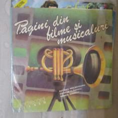 Vinil pagini din filme si musicaluri - Muzica soundtrack Altele