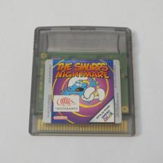 Joc Nintendo Gameboy Color - The Smurfs Nightmare - Jocuri Game Boy Altele, Actiune, Toate varstele, Single player