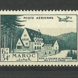 MAROC--1948--POSTA AERIANA--MNH, Nestampilat