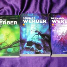 Bernard Werber - trilogia Furnicile Ziua furnicilor Revolutia furnicilor (f5044