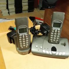 Telefon Fix fara fir 2 Telefoane fara Baterie Tevion MD81199