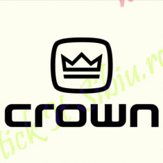 Crown_Tuning Moto_Cod: CSP-128_Dim: 15 cm. x 8.7 cm. - Stickere tuning
