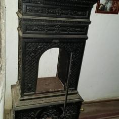 Sobă antică - Metal/Fonta