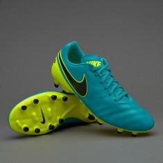 Ghete Fotbal Nike Genio FG Piele Naturala - Originale - 43 44 45 - Noi, Culoare: Din imagine, Barbati, Iarba: 1
