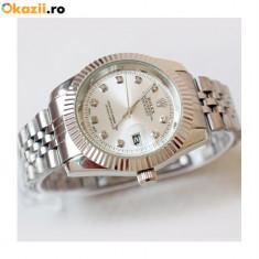 Ceas Dama ROLEX DateJust Silver Luxury, Quartz