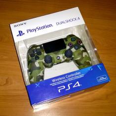 Controller PS4 - Green Camouflage ( V2 ), editie limitata, nou