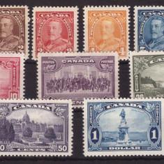 Canada 1935 George V, motive locale, serie neuzata MNH - Timbre straine