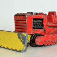 Macheta Matchbox Superkings k-23 Super Bulldozer - Macheta auto Matchbox, 1:55