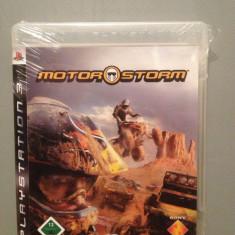 MOTOR STORM - Joc pentru PlayStation 3 (PS3) - Original/ Nou /Sigilat - Jocuri PS3 Sony, Curse auto-moto, 12+