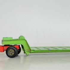 Macheta Matchbox Superkings k-17 Dyson Low -Loader - Macheta auto Matchbox, 1:55