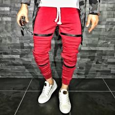Pantaloni barbati 008 Red, Marime: S, M, L, XL, Culoare: Din imagine, Lungi, Bumbac