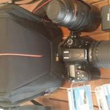 Nikon D7000 cu 2 obiective nikkor 2 card memorie si geanta