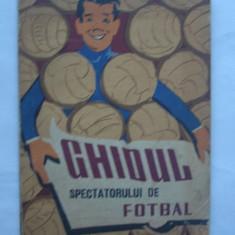 Petre Gatu - Ghidul Spectatorului De Fotbal 1961, desene de Matty Aslan - Carte sport