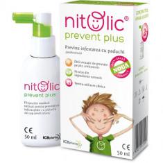 Nitolic - Spray pentru Prevenirea Infestarii cu Paduchi - Cosmetice copii