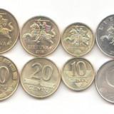 Lot monede Lituania 1999-2010 UNC