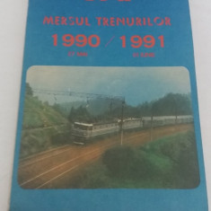 MERSUL TRENURILOR 1990/1991