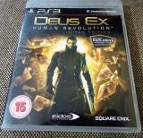 Joc Deus Ex Human Revolution, PS3, original, alte sute de jocuri!, Actiune, 16+, Single player, Sony
