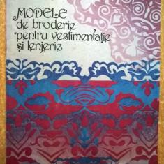 Elvira Zamfirescu-Talianu - Modele de broderie pentru vestimentatie si lenjerie