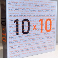 10 X 10, ARHITECTURE 10 CRITICS, 2007 - Carte Arhitectura