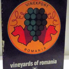 FOREIGN TRADE ENTERORISE , VINEYARDS OF ROMANIA