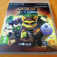 Joc Ratchet and Clank All 4 one, PS3, original, alte sute de jocuri! - Jocuri PS3 Sony, Actiune, 12+, Single player
