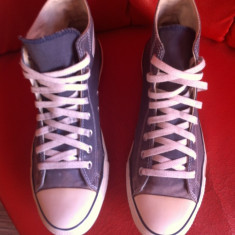 Converse All Star originali, high top, nr.44-28, 5 cm. - Tenisi barbati Converse, Culoare: Bleumarin, Textil