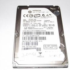 Hard disc laptop 320 Gb / SATA 2 / Hitachi / 16 mb cache / TESTAT (K0.1) - HDD laptop Hitachi, 300-499 GB, Rotatii: 5400