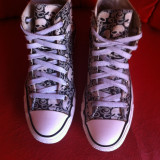 Converse All Star originali ,high top ,nr.37,5-24 cm.
