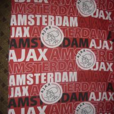 Cuvertura - Suporteri de Fotbal - Echipa Ajax Amsterdam Olanda 176/129 cm