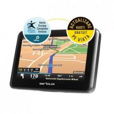 Sistem de navigatie/GPS Serioux Urbanpilot UPQ430, harta full Europa, NOU, Toata Europa, Lifetime