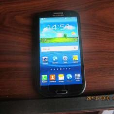 Samsung Galaxy S3 model GT-I9300 - Telefon Samsung, Negru, Neblocat, Single SIM