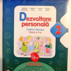 DEZVOLTARE PERSONALA , CAIETUL ELEVULUI , CLASA A II-A de GABRIELA BARBULESCU ... CLAUDIA STEFAN , 2016