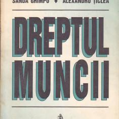SANDA GHIMPU, ALEXANDRU TIPLEA - DREPTUL MUNCII - Carte Dreptul muncii
