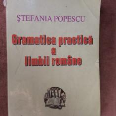Gramatica Practica A Limbii Romane Stefania Popescu - Culegere Romana