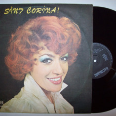 Disc vinil CORINA CHIRIAC - Eu sunt Corina! (ST - EDE 01899) - Muzica Pop electrecord