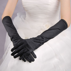 Manusi lungi de satin/ocazie nunta