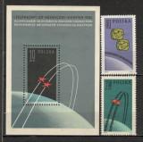 Polonia.1962 Cosmonautica-Vostok 3 si 4  SP.127, Nestampilat