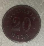 Romania - 20 bani 1900, Cupru-Nichel