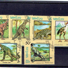 Laos - Prehistoric animale, An: 1988, Natura, Asia